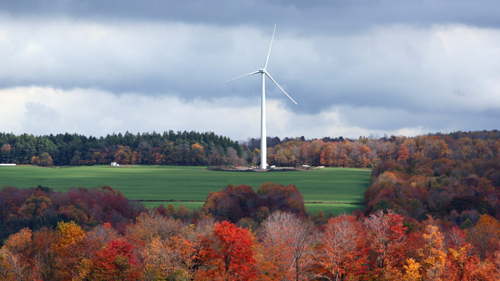 Ohio wind moves forward, a wind energy grant for South Dakota Sioux, a new tower design
