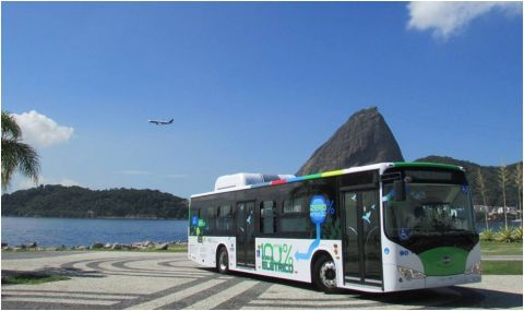 First Zero-Emissions All-Electric Bus Launches in Rio de Janeiro