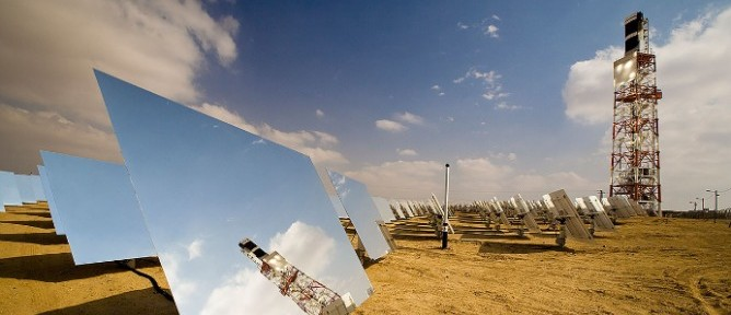 Concentrated Solar Power (CSP) BrightSource Energy looks abroad