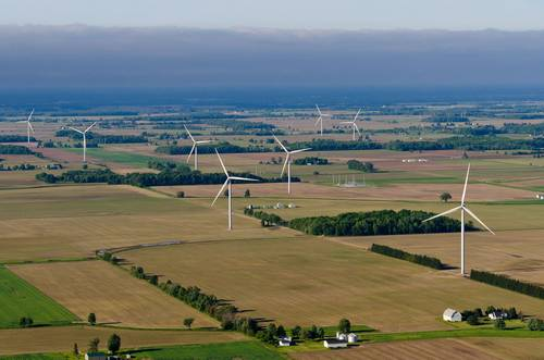 DTE 50 MW wind farm in Michigan starts operations