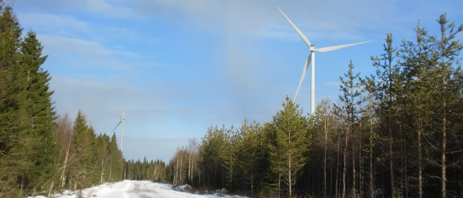 The first commercial wind farm equipped with Gamesa 4.5 MW wind turbines has been inaugurated in Finland