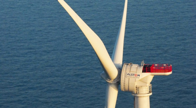 Alstom wind turbines selected for offshore wind power in Virginia