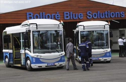 Bolloré introduces first electric buses in Cameroon
