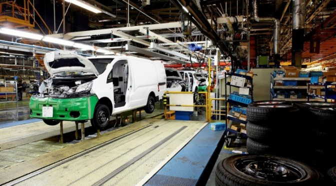 Nissan starts production of Nissan's first electric van as part of €431 million investment