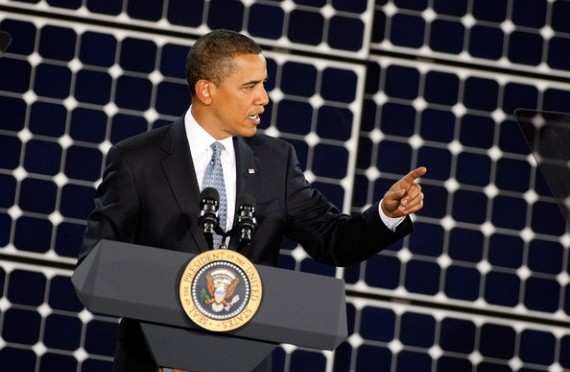 "Barack Obama: ""Climate Change Can No Longer Be Denied or Ignored"""