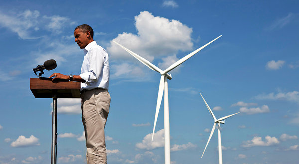 President Obama promotes American wind power at Clean Energy Summit