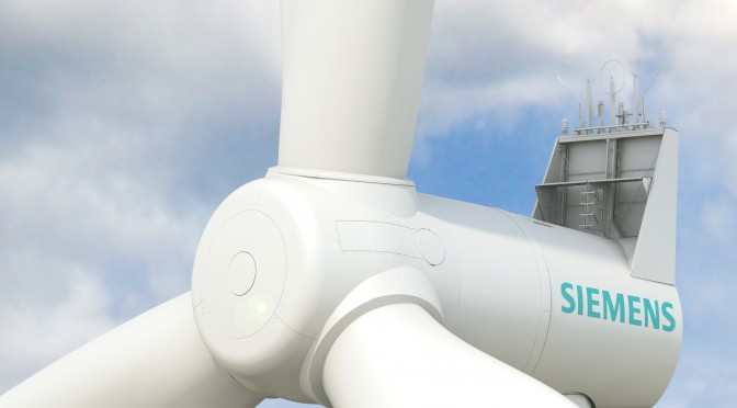 Siemens enters wind power market in Belgium