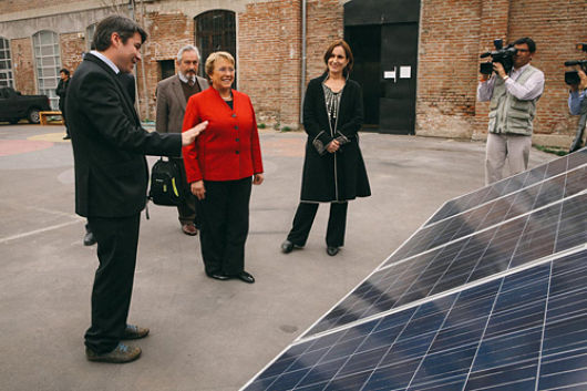 Chile inaugurates Latin America's largest solar energy photovoltaic plant