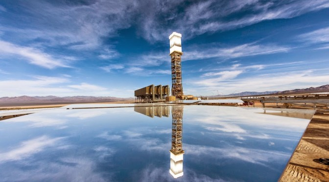 Concentrated solar power (CSP) with storage could fill the gaps in intermittent renewable generation