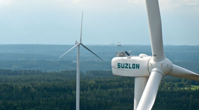 Suzlon secured order for 50.40MW wind power project in Andhra Pradesh
