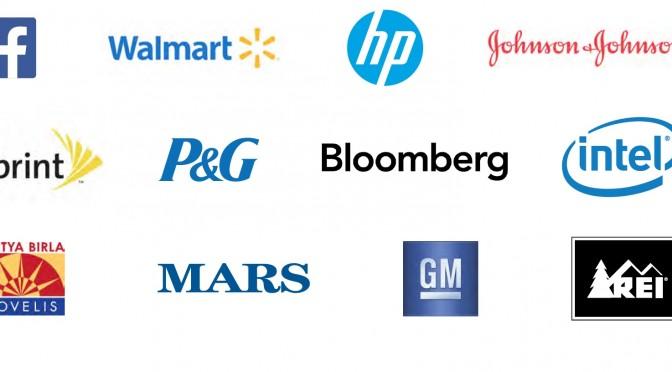 Major U.S. companies: We want more renewable energy