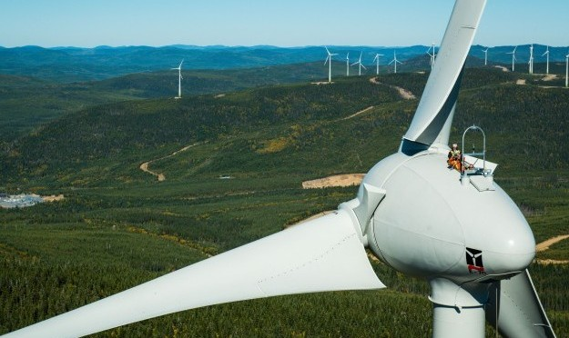 Commissioning of the Frampton wind power project in Canada