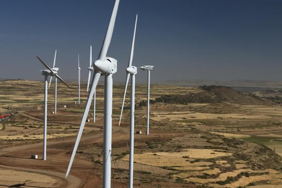 Ethiopia opens Africa's biggest wind farm with 101 wind turbines