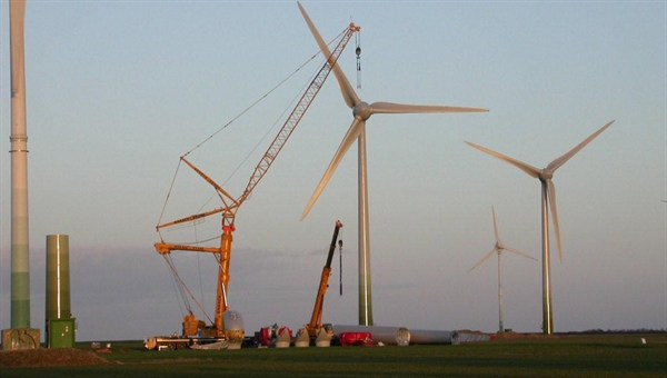 Germany onshore wind power surges