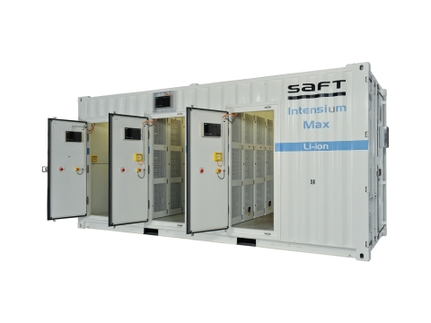 Saft to Deliver Third Li-ion Energy Storage System for California Utility