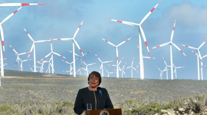 Chile launches its biggest wind farm
