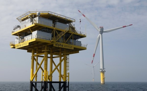 Offshore wind farm in South Korea