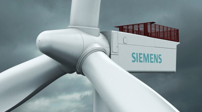Siemens Receives Order for Wind Turbines and Servicing for Sandbank Offshore Wind Farm