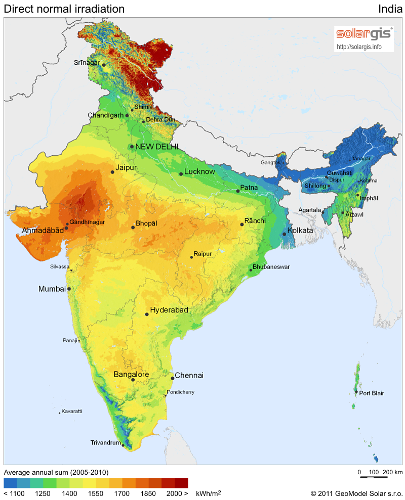 Concentrated solar power could play a key role in India's energy future
