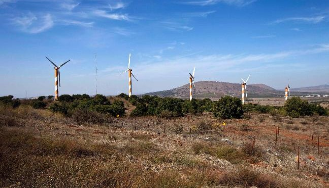 Israel's largest project of wind energy has received the approval