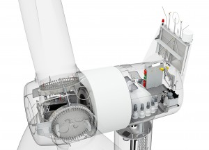 Direktantrieb für schwedischen Windpark / Direct drive technology for Swedish wind farm