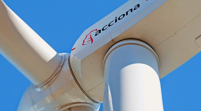 Acciona increased its ordinary net profit by 59.8% in 2017 to €233 million