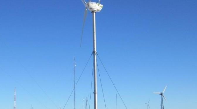 EOCYCLE 25 direct-drive wind turbine