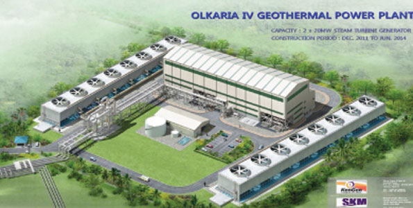 Olkaria geothermal energy project to lower cost of power in Kenya