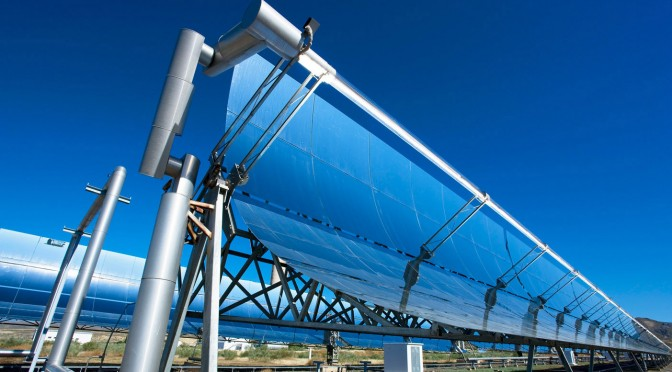 Concentrated Solar Power (CSP) plants offer a high degree of security of supply