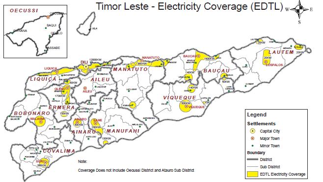 East Timor solar energy plan nominated for award