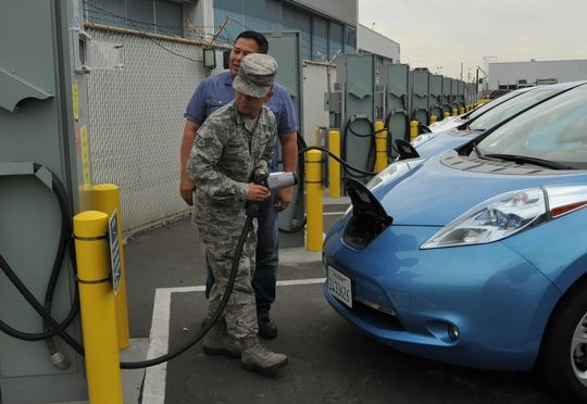US Air Force adds V2G technology (Vehicle to Grid) with a new fleet of electric vehicles