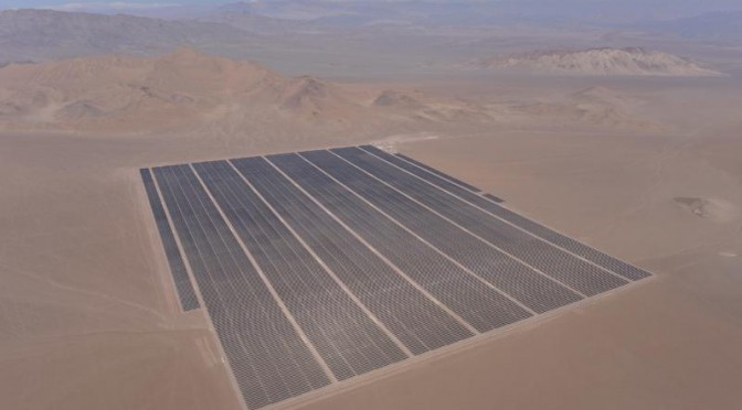 Etrion completes construction of 70 MW solar energy plant in Chile
