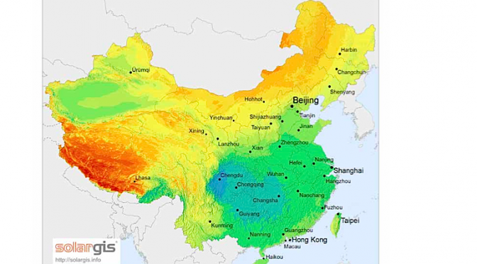 China climate pledge needs 30 times more solar energy or nine times more wind power