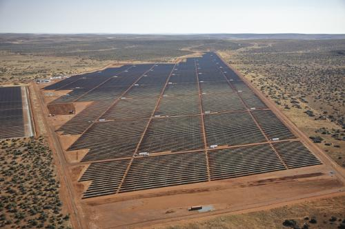 South Africa opens its biggest solar power plant