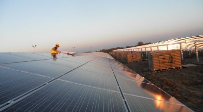 New solar power plant in Serbia