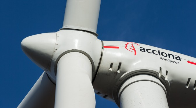 Acciona Energy International obtains full ownership of the 76-MW Ripley Wind Farm