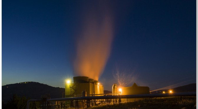 First power plant in the world to integrate geothermal energy and biomass