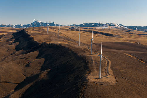 Wind power plant supplied by Wärtsilä now operational in Oregon, USA