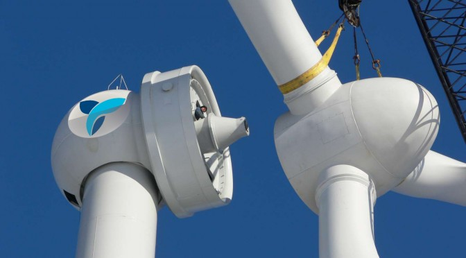 First wind power to be built in Georgia