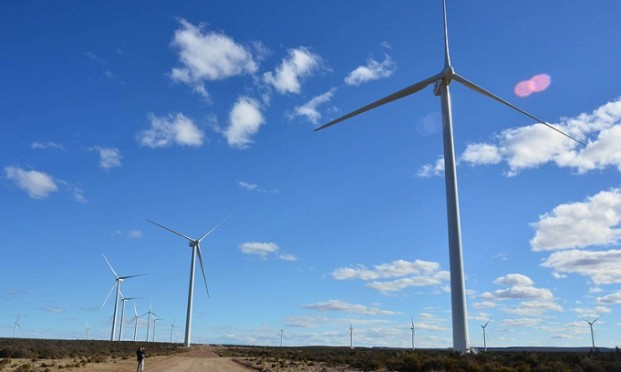 ALE showcases wind power installation expertise in Argentina