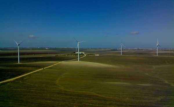 Wind energy in Panama: wind farm with Goldwind wind turbines