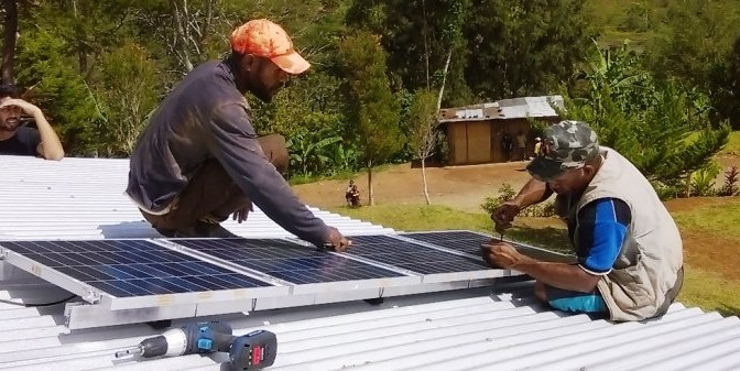 Solar energy in Papua New Guinea