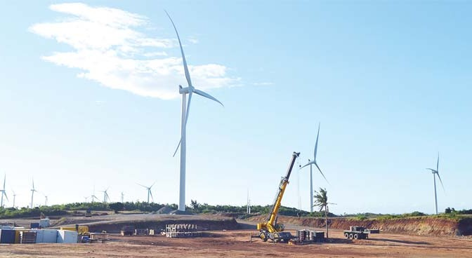 Wind power in Philippines