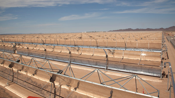 Concentrated Solar Power (CSP) Mojave 280 MW declares commercial operation