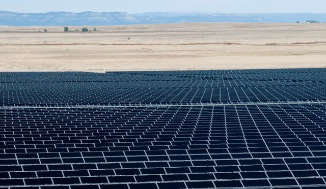Two photovoltaic solar energy plants proposed in Central Oregon