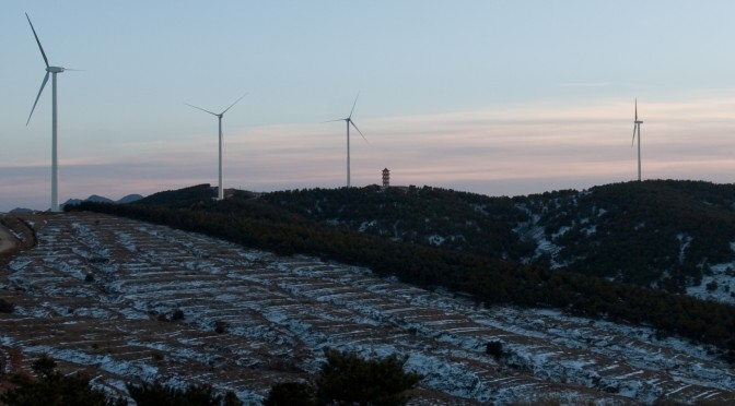 Gamesa wind turbines for wind power in China