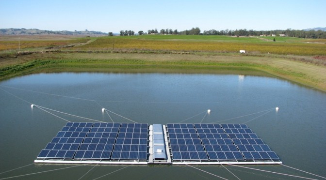 Potential for floating photovoltaic solar energy in Malaysia