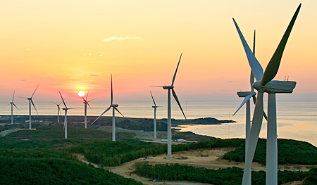 Wind energy in Philippines: Ilocos wind farm has 50 wind turbines