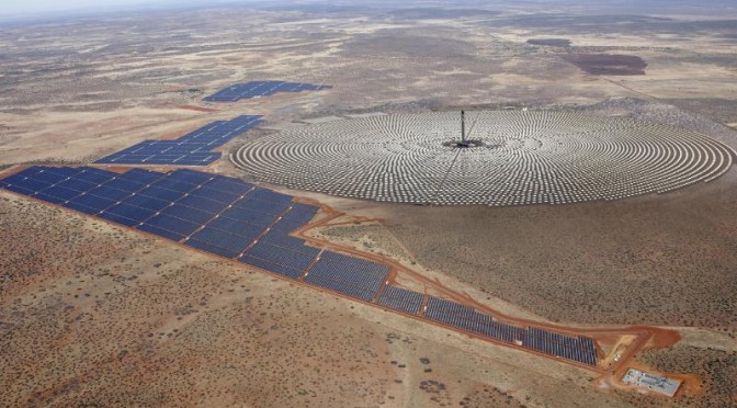 OPIC partners with Solarreserve and ACWA power to develop landmark South African concentrated solar power plant