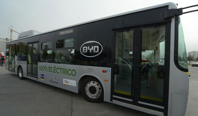 BYD will provide 50 pure electric buses to the Argentine province of La Rioja